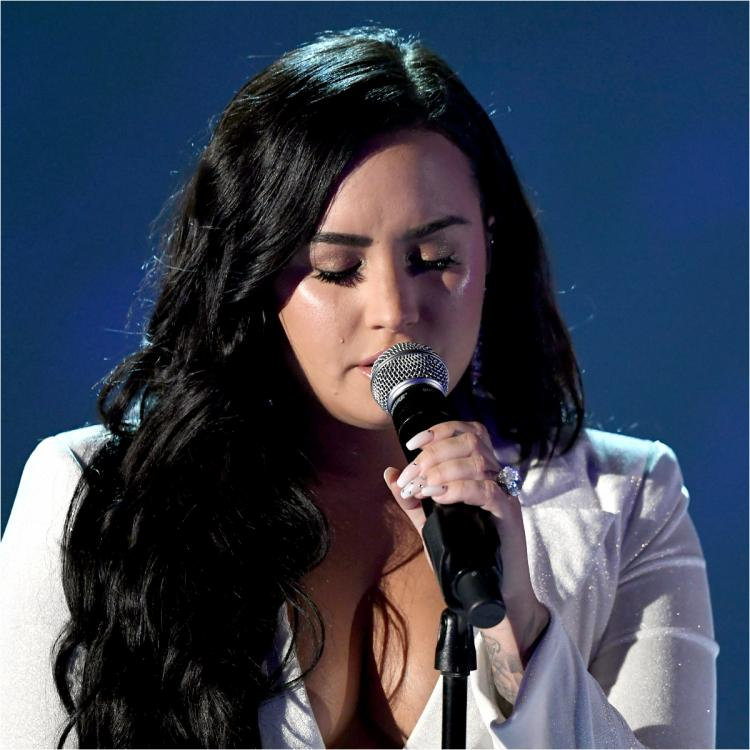 Grammys 2020: Demi Lovato couldn't stop her tears during her powerful comeback performance