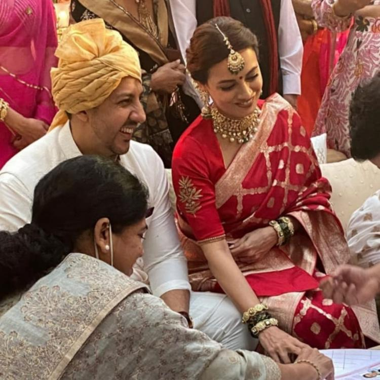 Image result for dia mirza wedding