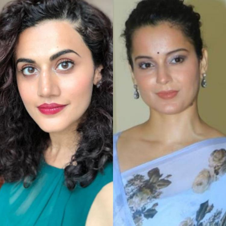 Did Taapsee Pannu take a sly dig at Kangana Ranaut again for the latter's comments on her 'bills and EMIs'?