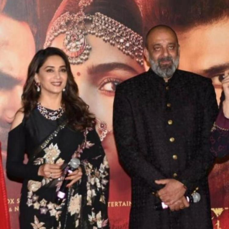 Did you know Sanjay Dutt was scared to shake a leg with Madhuri Dixit in a song?