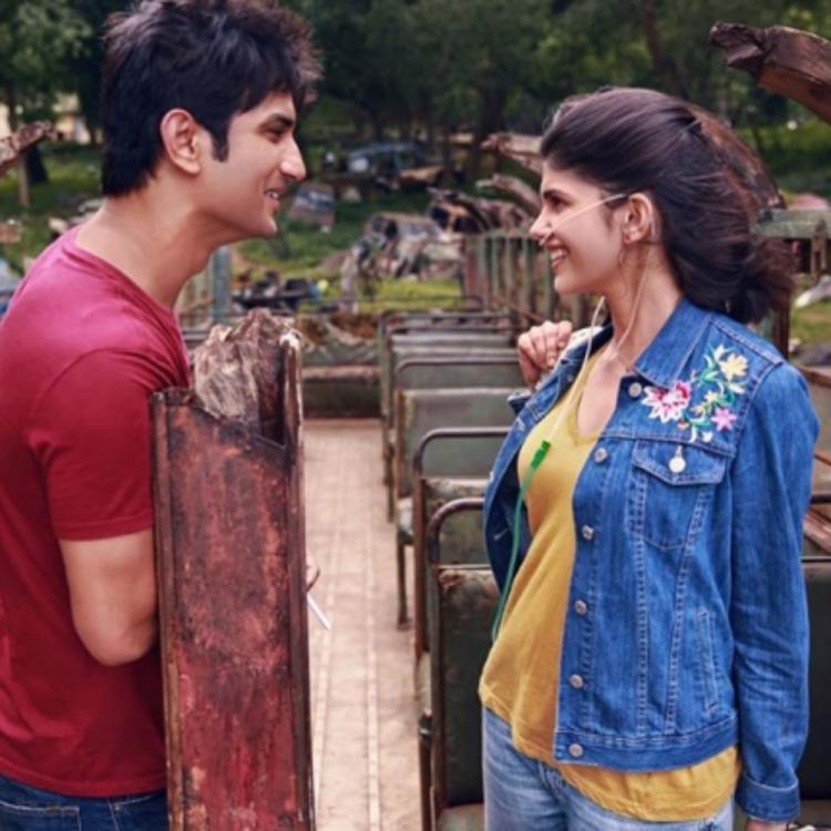 Dil Bechara: Here's a glimpse of Sushant Singh Rajput & Sanjana Sanghi's unmissable moments from the sets