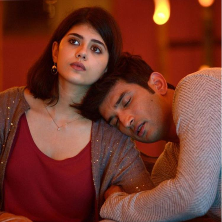 Dil Bechara: Sanjana Sanghi recalls her 'favourite moment' on set with Sushant Singh Rajput with a sweet photo