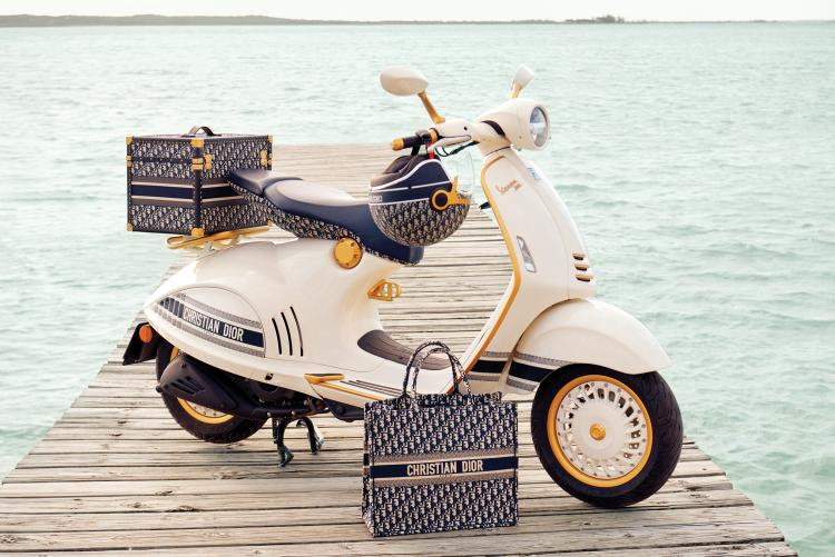 Always wanted a fashionable ride? Dior is teaming up with Vespa to create an irresistible luxury scooter