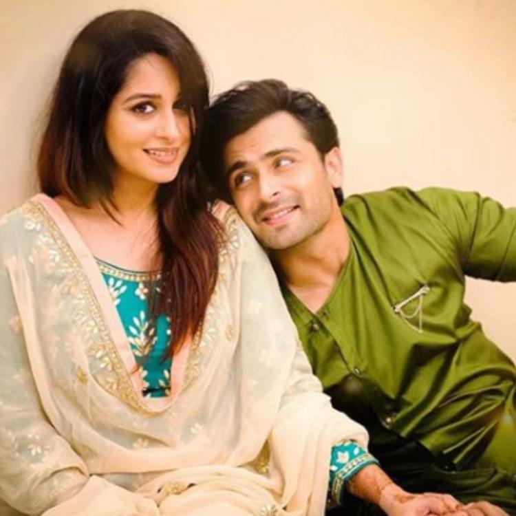 Dipika Kakar and Shoaib Ibrahim holding hands as they pose for a beautiful PICTURE is all things love