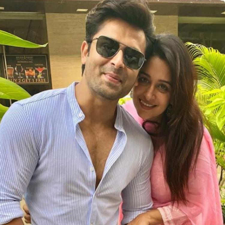 Dipika Kakar can't stop smiling as Shoaib Ibrahim helps her in wearing a necklace; See THROWBACK photo