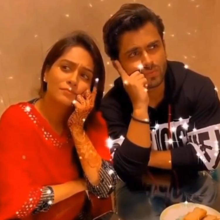 Dipika Kakar and Shoaib Ibrahim leave us wondering what they are thinking about in a cute boomerang VIDEO