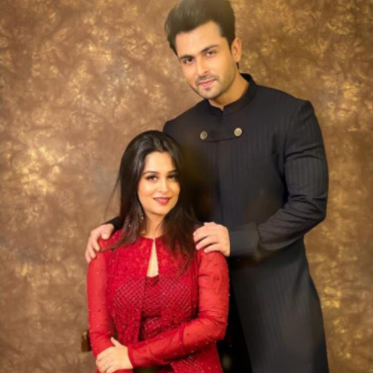 Dipika Kakar, Shoaib Ibrahim look royal in ethnic outfits and post heartening notes for each other