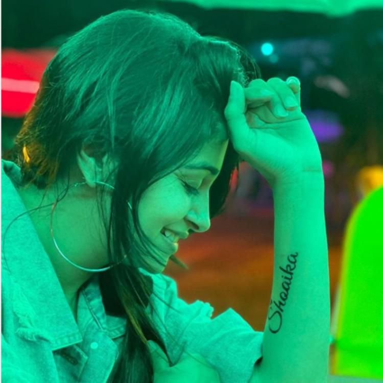 Dipika Kakar shares a candid PHOTO but its her 'Shoaika' tattoo that grabs our attention; Check it out