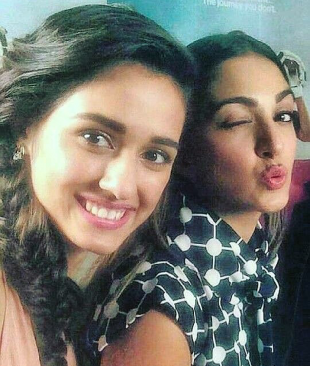 Disha Patani and Kiara Advani are cuteness overload as they come together for a selfie and internet loves it