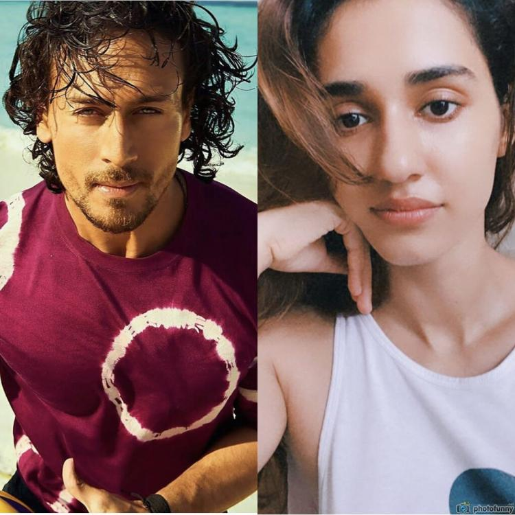 Disha Patani drops fire emoji on Tiger Shroff's throwback beach photo and fans can't get enough of their PDA
