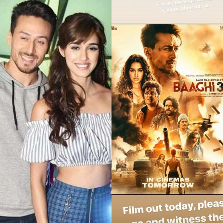 Disha Patani is all praises for Tiger Shroff's Baaghi 3; Calls it as 'the best action film ever'