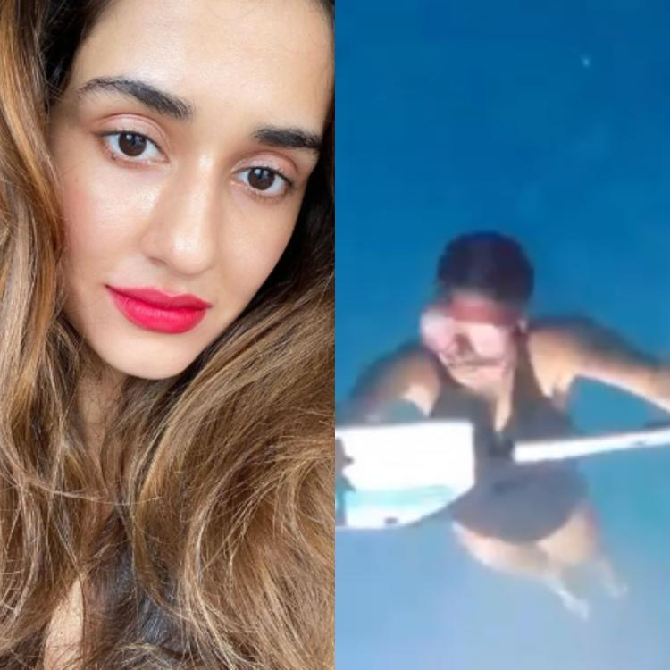 Disha Patani shares a BTS video from Malang as she practices water sports for the shoot of 'Humraah'