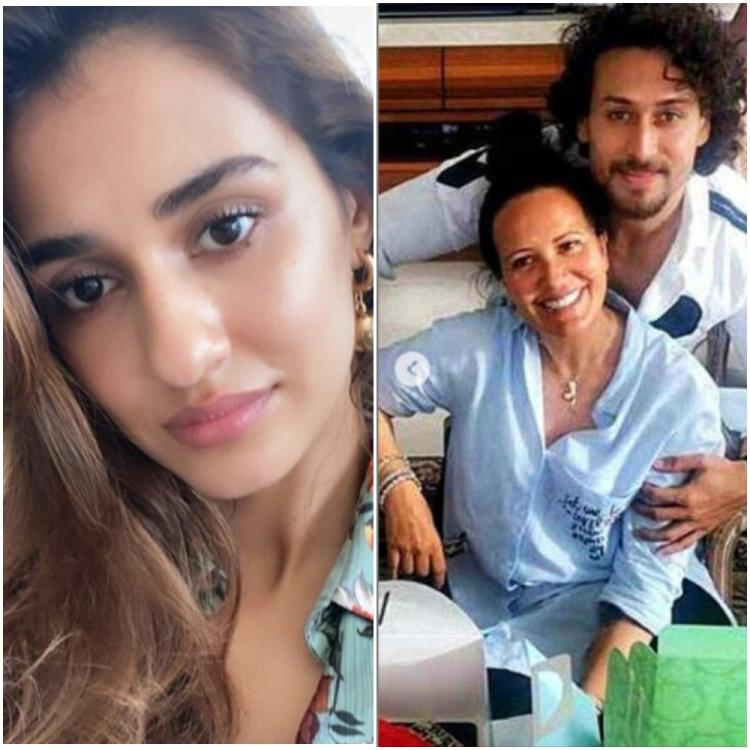 Disha Patani showers love on Tiger Shroff's adorable post for mom Ayesha Shroff on Mother's Day; Take a look