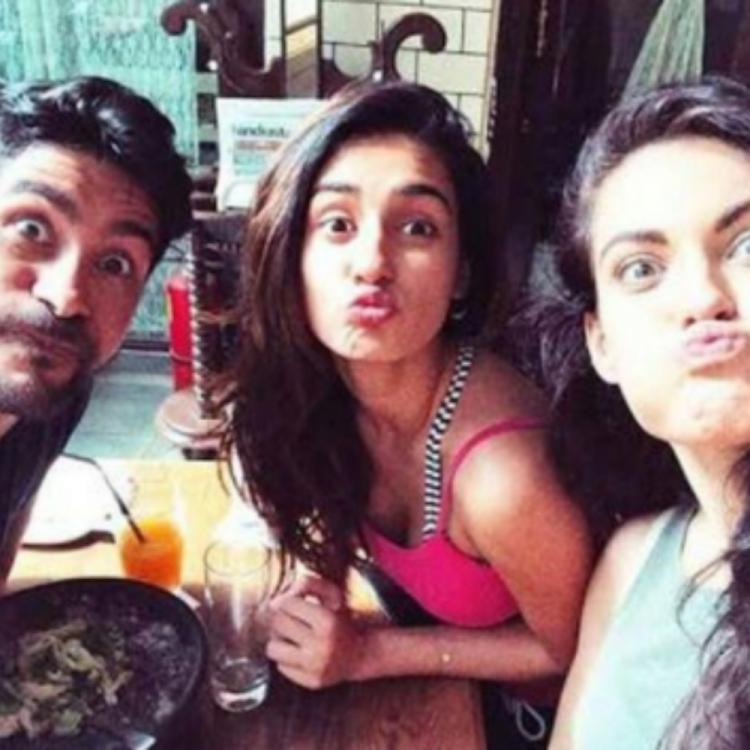 Disha Patani wins hearts with the pout game in a throwback PHOTO with her friends