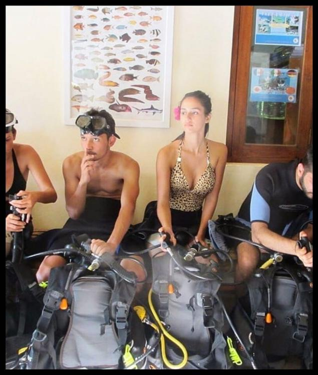 Disha Patani looks like a dream as she a shares throwback photo from scuba diving days; Take a look