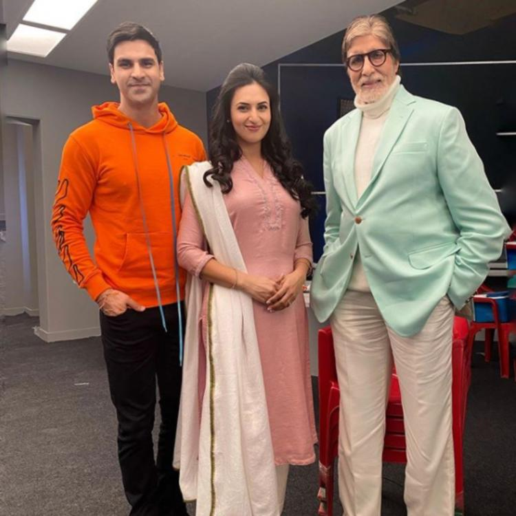 Divyanka Tripathi, Maniesh Paul, Krystle D'Souza wish Amitabh Bachchan on his birthday
