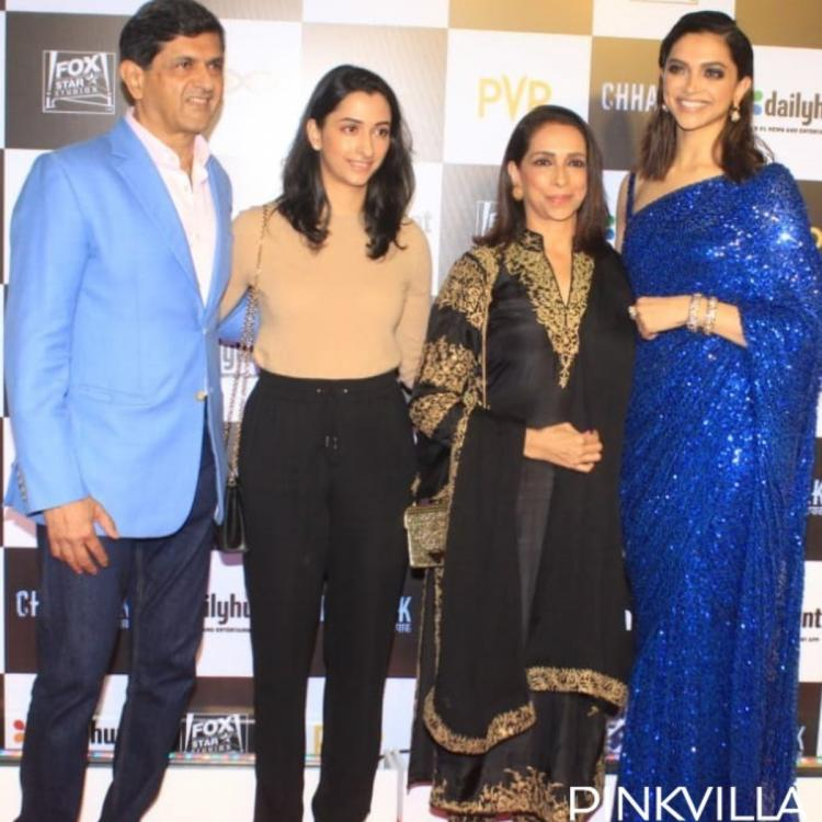 PHOTOS: Deepika Padukone's family members and in laws attend the premiere of Chhapaak