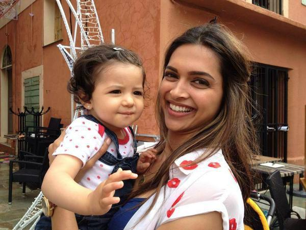 Image result for deepika with a baby