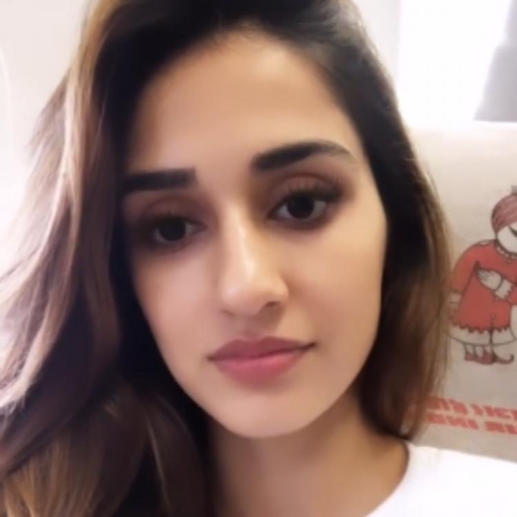 Disha Patani shows us how to ace the beauty game with lash filter; WATCH Video