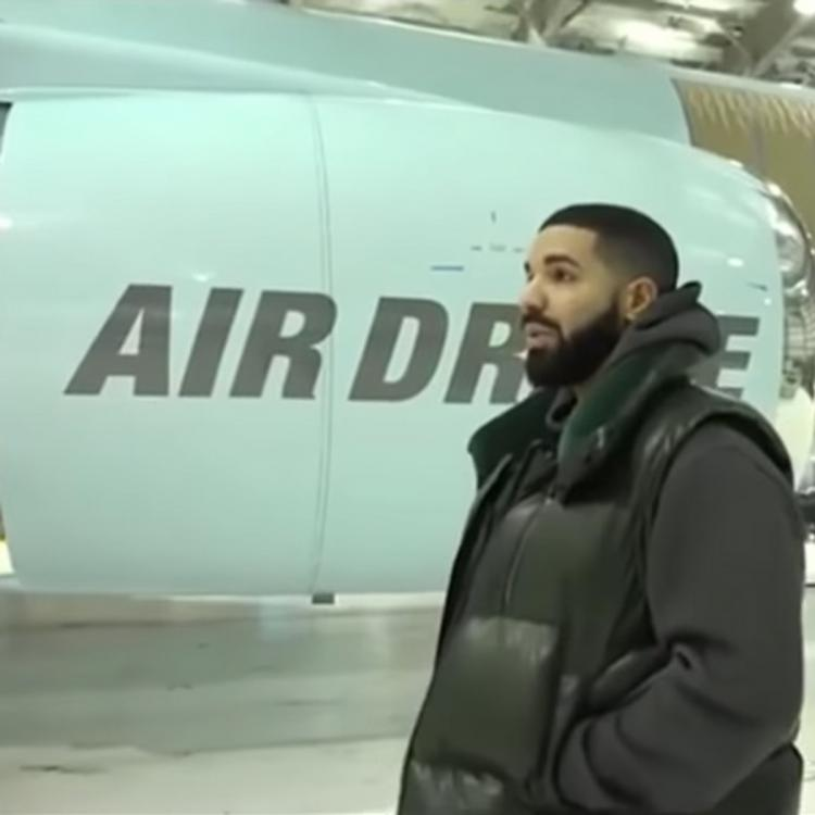 Drake gives a sneak peek of his brand new USD 100 million private jet; Watch video