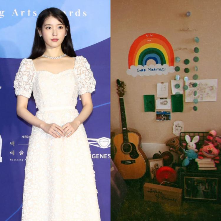 Dream star IU gives a tour of her room and a bunch of precious treasures find a place in her favourite corner