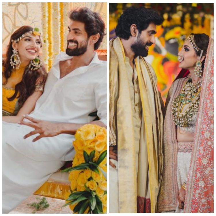 Dulquer Salmaan 'hates' missing Rana Daggubati, Miheeka Bajaj's wedding; Pooja Hegde & others send best wishes