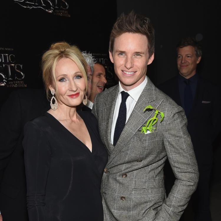 Eddie Redmayne DEFENDS J.K. Rowling over anti trans comments