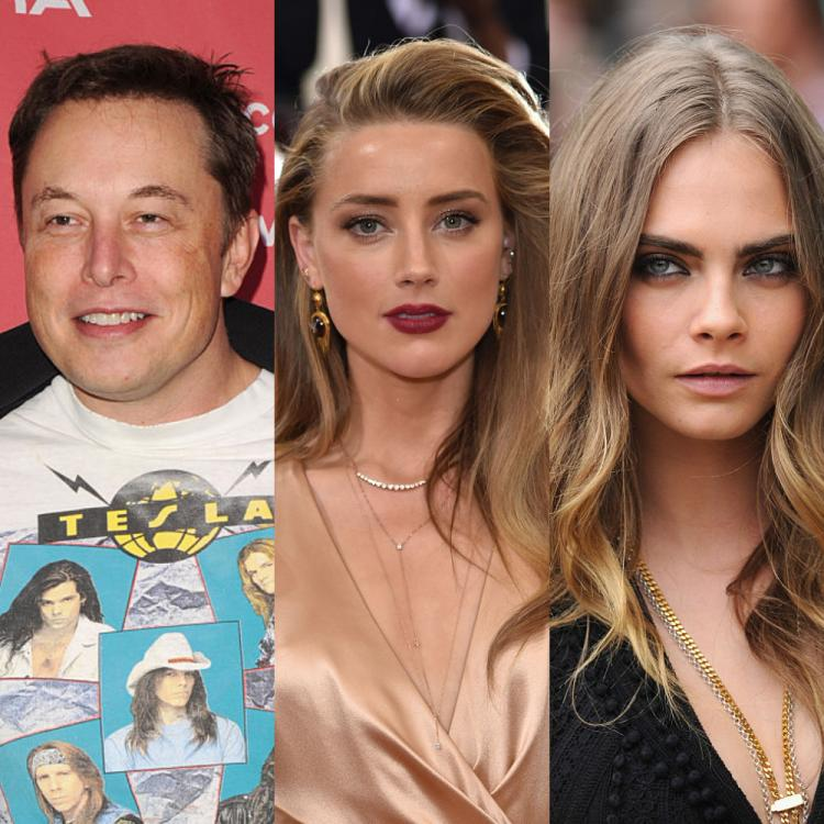 Elon Musk denies having a threesome with Amber Heard and Cara Delevingne; Responds to Johnny Depp's lawsuit