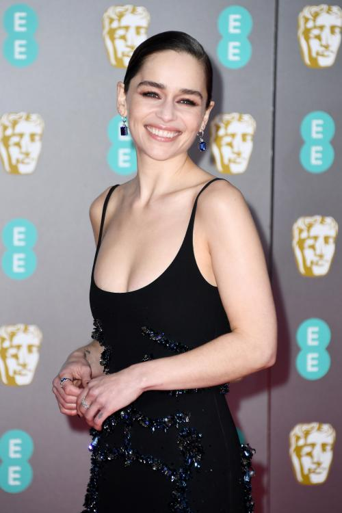 Emilia Clarke's older brother was a part of the camera department for Game of Thrones.