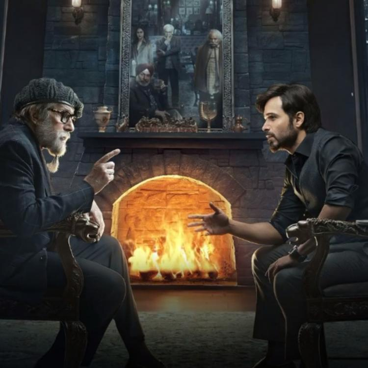 Emraan Hashmi and Amitabh Bachchan's intense look in the NEW POSTER of Chehre will pique your curiosity