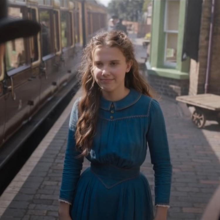 Millie Bobby Brown in and as Enola Holmes
