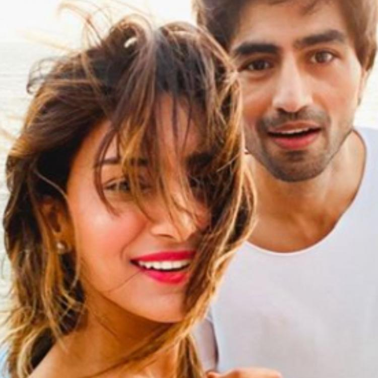 Erica Fernandes shares new pictures with Harshad Chopda from Goa