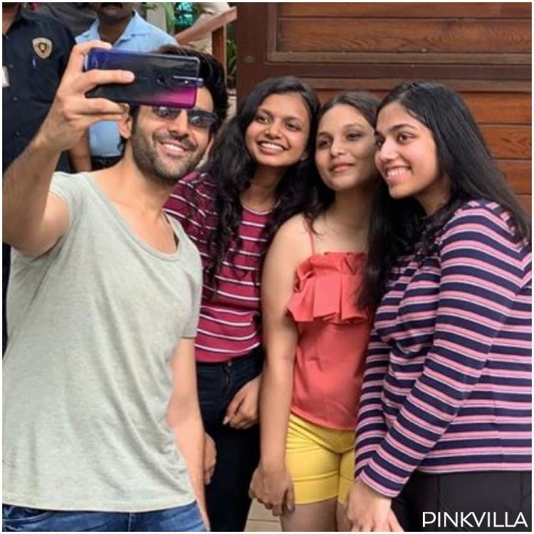 EXCLUSIVE: Kartik Aaryan meets his 'die hard fans' who bunked college for 15 days & waited outside his home