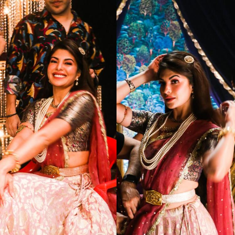 EXCLUSIVE: Jacqueline Fernandez looks like a princess in BTS photos from a song with Asim Riaz; Check it out