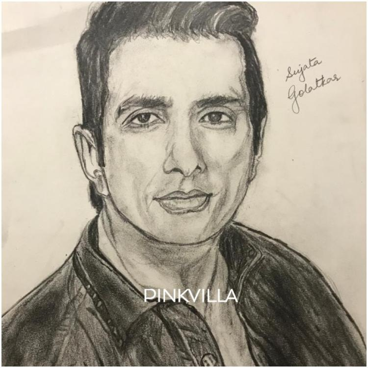 EXCLUSIVE: Sonu Sood's helpful act for migrant workers inspires an artist to sketch a stunning portrait of him