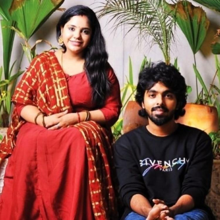 Fans wish music composer GV Prakash Kumar and singer Saindhavi as they welcome their baby girl
