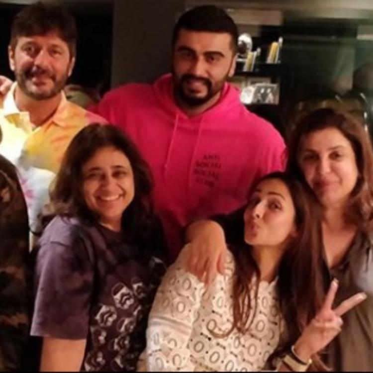 Malaika Arora, Arjun Kapoor, Farah Khan, Chunky Panday & others are giving major squad goals in THIS pic