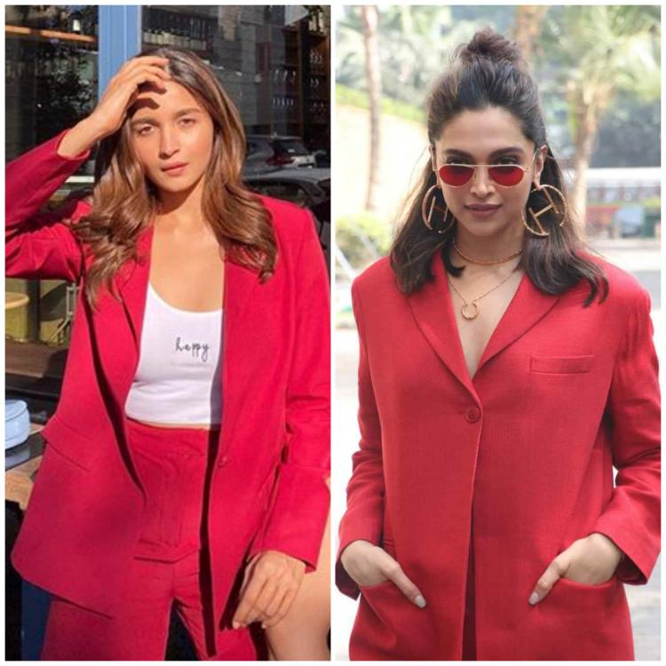 Fashion Faceoff: Alia Bhatt or Deepika Padukone: Who looks the best in a red pantsuit? VOTE
