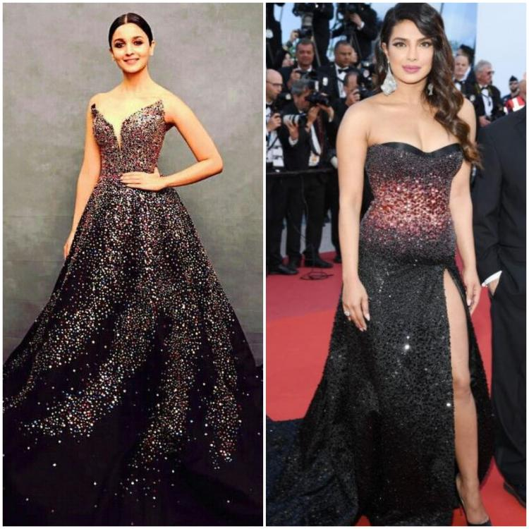 Fashion Faceoff: Alia Bhatt or Priyanka Chopra: Who looks the best in the sparkly black number?