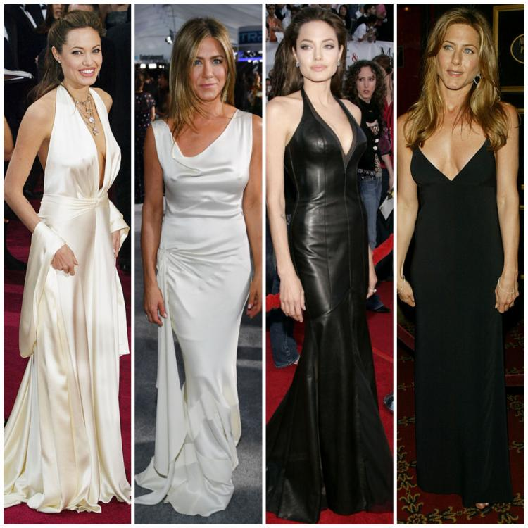 Fashion Faceoff: Angelina Jolie or Jennifer Aniston: Who do you think looks the best on the red carpet? VOTE