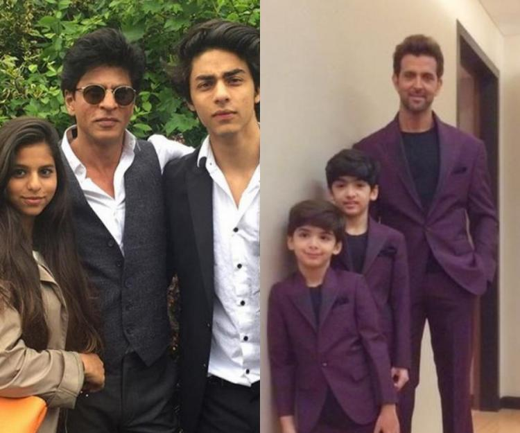 Father's Day Special: Shah Rukh Khan, Hrithik Roshan, Saif Ali Khan: The coolest Bollywood dads