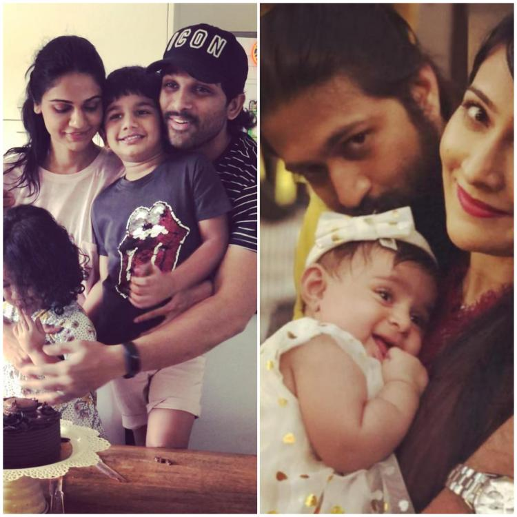 Father's Day 2020: From Allu Arjun, Mahesh Babu to Yash, South actors who deserve the 'best dad' title
