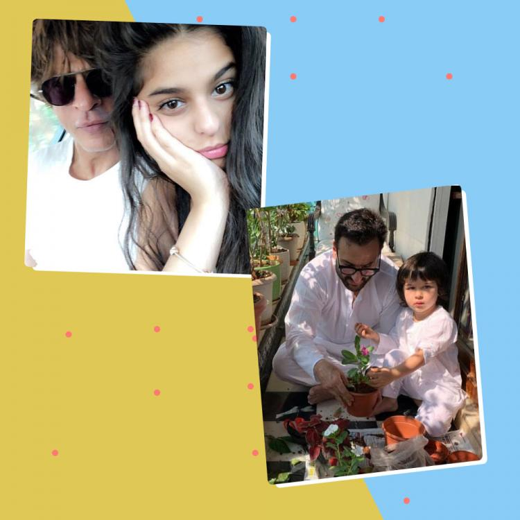 Father's Day 2020: SRK, Suhana Khan to Saif Ali Khan, Taimur; Celebrating coolest fathers and kids of B town