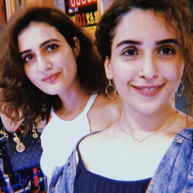 Besties Sanya Malhotra, Fatima Sana Shaikh get matching tattoos and it may leave you supremely confused.