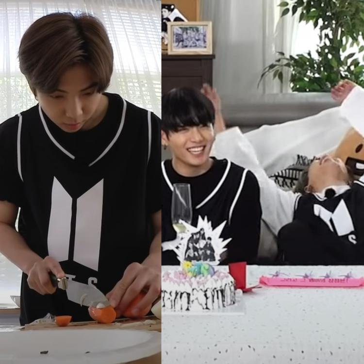 In the BTS seventh birthday teaser, we also see Suga and Jimin aka Yoonmin decorating a cake for the septet.
