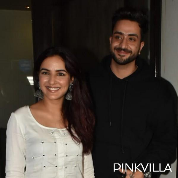 PHOTOS: Aly Goni & Jasmin Bhasin head out for dinner date dressed in contrasting B&W outfits