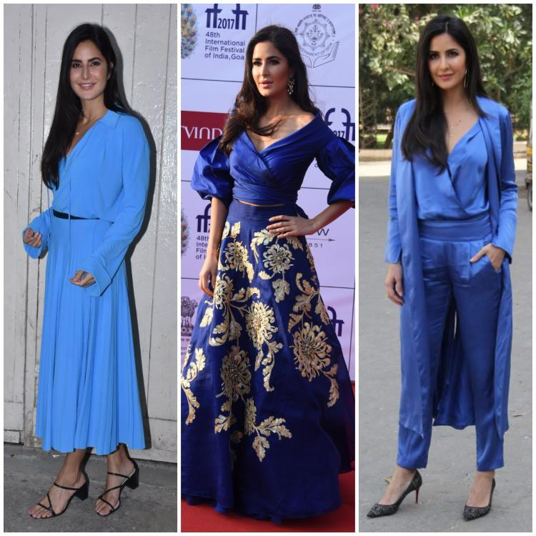5 Times Katrina Kaif looked uber cool in stunning blue outfits