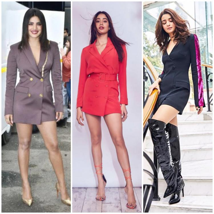 Priyanka Chopra Jonas to Alia Bhatt: 5 Times blazer dresses made power dressing fun & fab