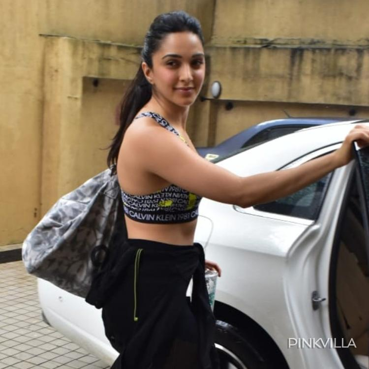 PHOTOS: Kiara Advani keeps it simple yet peppy as she heads for her boxing class