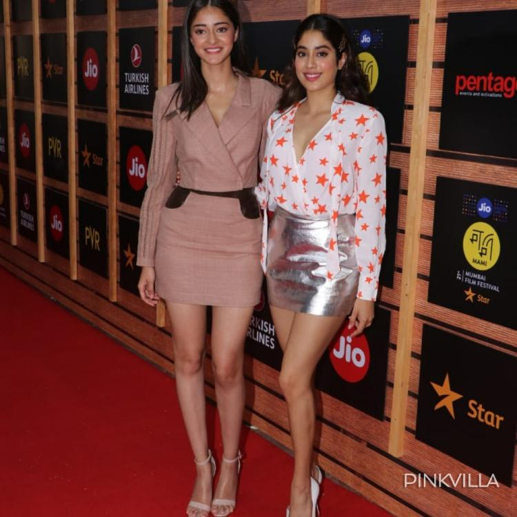 MAMI 2019: Janhvi Kapoor and Ananya Panday keep it stylish as they step out for the film festival